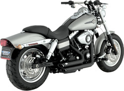 Vance And Hines - 47217 - Shortshots Staggered Exhaust Harley Dyna Fxd 2006-2011