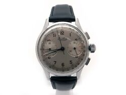 Vintage Stainless Steel Breitling Premier Chronograph Watch 760 Manual Wind