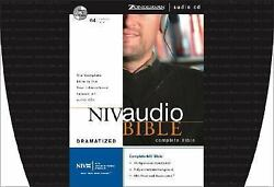 Niv Audio Bible By Zondervan 2001 64 Audio Cd Set Old And New Testament W/ Case