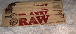 Raw Natural Unrefined Rolling Paper 12 Inches X10 Lot