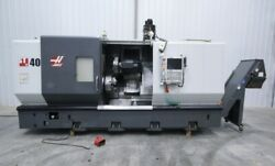 14007 Haas ST40 Big Bore Turning Center 2012