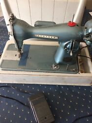Antique Brother Precision Sewing Machine, Model 050, Case , Foot Pedal