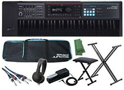 Roland Synthesizer Juno-ds61b Limited Production 61 Black Keys, From Japan F/s