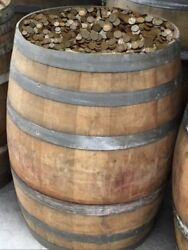Bags Of Wheat Pennies From Old Kentucky Whiskey Barrel Hoard - Estate Find