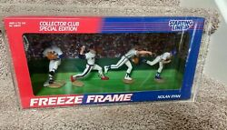 Mlb Nolan Ryan Collector Club Special Edition Freeze Frame Starting Lineup- New
