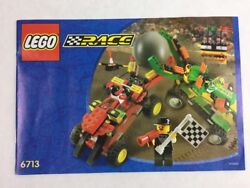 Lego Race Cars - Set 6713 Instructions / Manual / Booklet Only - Year 2000