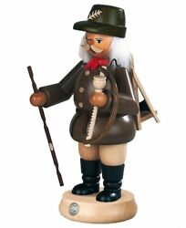 German Incense Smoker Forest Worker, Male, Height 23 Cm / 9 Inch,.. Mu 16210 New