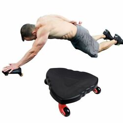 Abdominal Roller Coaster Exercise Plate Muscle Training Fitness ABS Gym Wheel