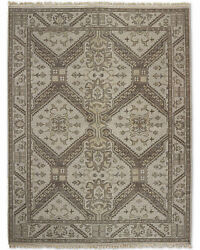 Restoration Hardware Stratto Sand Hand Knotted Rug 6x9 Wool 2695 Msrp