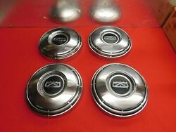 4 Used 67 Ford Galaxie Falcon Fairlane Mustang 10 1/2 Hub Caps C7az-1130-a