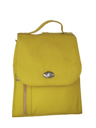 Leather Design Store Backpack Colorwoman Imported Fine Grain Cow Leather.