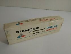 Diamond Boxed Matches That Write As Well As Light Dogs And Flowers
