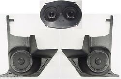 1964-66 Cutlass 442 Dash Speakers And Kick Panels For Stereo Radio W/ Ac