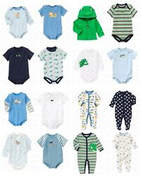 NWT GYMBOREE Brand New Baby Boys Tee Bodysuit Outfit Cute Premiere Newborn $4.99