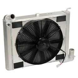 For Chevy Corvette 63-72 Dewitts Direct Fit Pro-series Aluminum Radiator W Fan