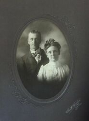 Vintage Old Photos 1900 Early Wedding Mint Condition