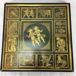 Rudy Lechleiter Contemporary Metal Art Zodiac Signs Horoscope Astrology