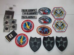 Lot Of Us Army Patches Space Radar Laboratory Srl, Space Lab, Indian Chief..