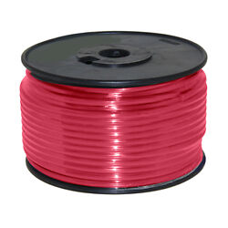 Wire 12 Awg Red 100ft Roll Ul Fine Strand Tinned Copper