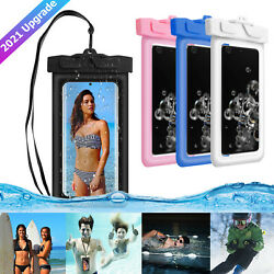 Waterproof Underwater Pouch Dry Bag Case Floating For iPhone Samsung Cell Phone