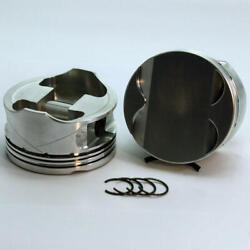 Dss Piston Set 2-4852-3720 3.720 Bore -4cc Flat Top 4v For Ford 46l Overbored