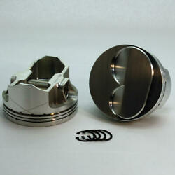 Dss Piston Kit K3-3418-4000 4.000 Bore 6cc Dome For 1962-2001 Ford 302 Sbf