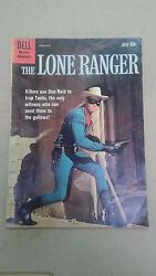 Vintage Dell Lone Ranger April-may 1960 130 Comic Book Lot A