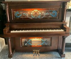 Ragtime O-rolls Player Pianos Coin-op Nickelodeon Upright Piano