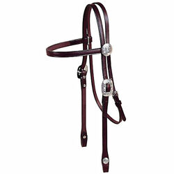 Tory Leather Tory Silver Durango Browband Headstall $190.24