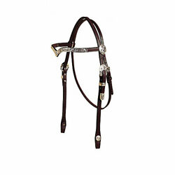 Tory Leather Tory Silver San Diego V Browband Headstall $256.24