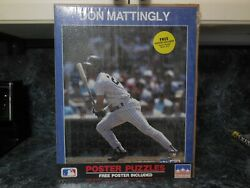 6 Vintage 16x20 Starline Posters/puzzles/don Mattingly/barry Sanders/d.robinson