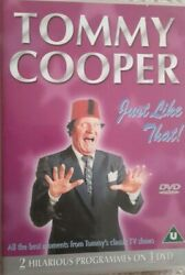 Tommy Cooper: Just Like That DVD $4.00