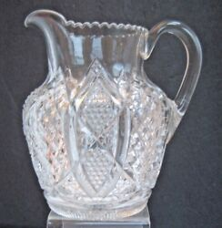 Scalloped Six Point Duncan Miller 30 Eapg Water Pitcher