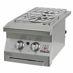 Solaire Built-in Double Side Burner Propane