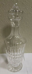 Vintage Waterford Crystal Maeve Cut Wine/liquor Decanter 12.75 Tall