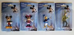 Mickey Mouse, Minnie, Donald Duck, And Goofy Figurines.disney, Toys, Collectibles