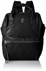 Anello mouthpiece leather Premium backpack AT B1511 black $139.22