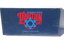Vintage 1987 Tradition Board Game Childrenand039s Edition A Fun Way To Learn Judaism