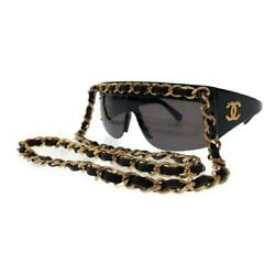 CHANEL vintage sunglasses chain 25 inch