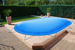 Oval Inflatable Pool Cover From Truck Tarp 24oz/m Andsup2 48oz/mandsup2