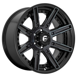 4-fuel 1pc Rogue Gloss Machined Double Dark Tint 20x10ford F150 Rims 6x135 -18
