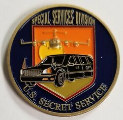 Usss Us Secret Service Special Services Division The Beast Air Force One Coin