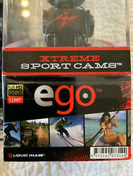 Brand New In Box Xtreme Sport Cams Ego By Liquid Image W Suction Cup Mount