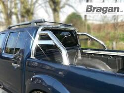 Roll Bar For Nissan Navara D40 2005 - 2016 Polished Stainless Steel Accessories