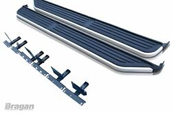 Running Boards For Land Rover Discovery 3/4 2005+ Aluminum Side Steps Skirts