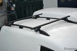 Roof Rails + Cross Bars + Stops For Ford Transit Tourneo Connect 14+ Swb Black