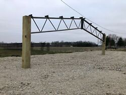 1 30' Steel Truss For 30'x Building - 10' Centers For Pole Barn 20psf