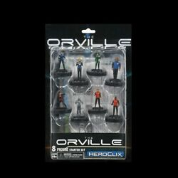 The Orville 2-player Starter Heroclix Sealed New 8 Figures, Map, Dice, Rules