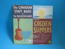 Salvation Army Vinyl Record Canadian Staff Band Bearcroft Csb 0673 Slippers
