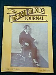 1946 American Antiques Journal Abraham Lincoln Doll Amethyst Jewelry Mammy Dolls